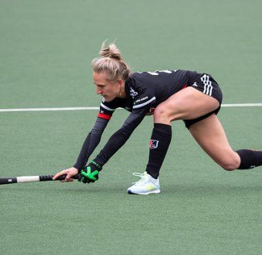 Lauren Stam doet dit weekend mee aan de EHL in Amsterdam.
