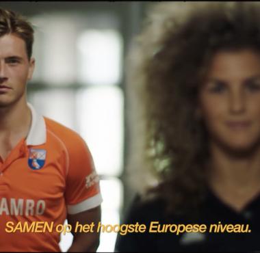Jorrit Croon en Maria Verschoor zetten zich in voor ABN AMRO's inhaalslag