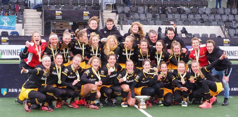 Den Bosch wint de finale van de EHL 2021.
