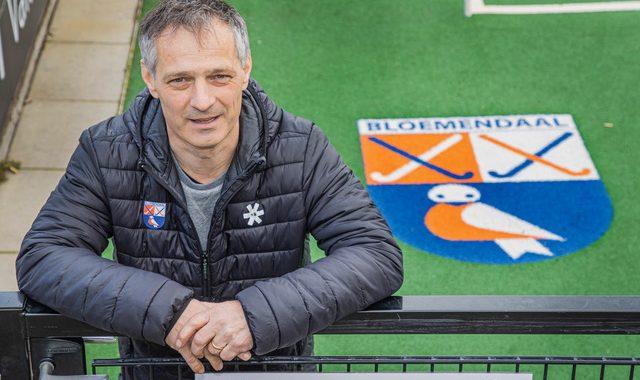 Dave Smolenaars, de nieuwe coach dames I van Bloemendaal