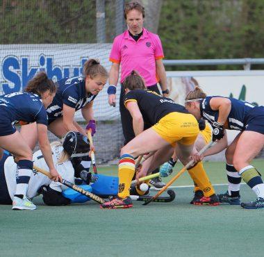 Den Bosch wint met 0-4 in de eerste wedstrijd van de play-offs van HDM.