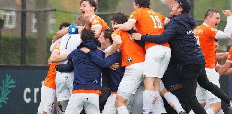 Bloemendaal is landskampioen 2020-2021.