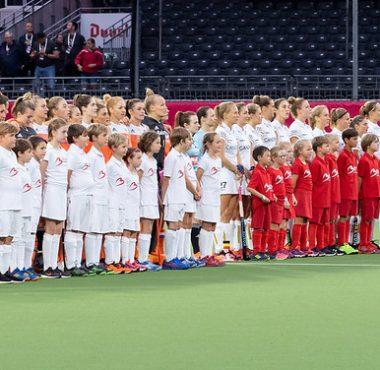 De Nederlandse dames spelen in 2019 gelijk tegen de Belgische dames op het EK Hockey