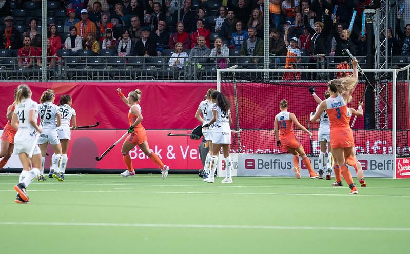 Op het EK Hockey van 2019 speelde België knap gelijk tegen Oranje
