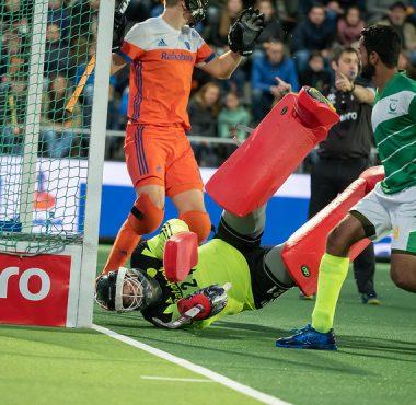 Visser was een kleine twee jaar geleden nog belangrijk in het kwalificatieduel tegen Pakistan. Met Visser plaatste Oranje zich voor de Spelen.