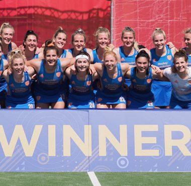 De Nederlandse dames winnen de FIH Pro League 2019-2021.