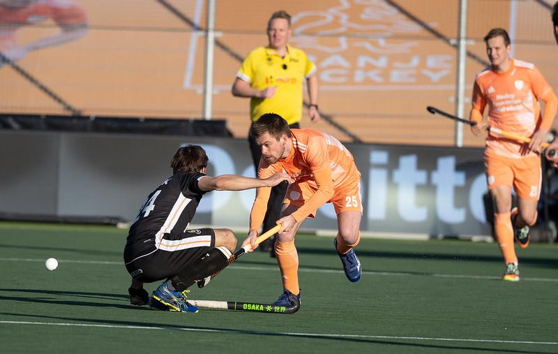 In de vorige ontmoeting had Nederland haar handen vol tegen de Duitse opponent.