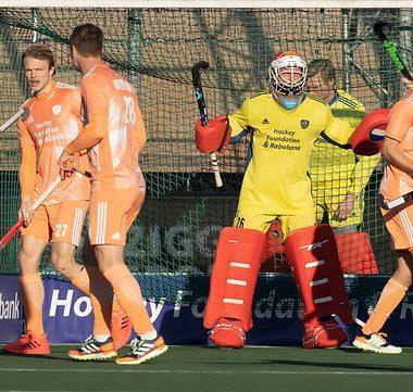 Eerder dit jaar namen de Nederlandse heren het al op tergen Duitsland in de FIH Pro League.