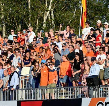 Fans tijdens het EK Hockey 2021