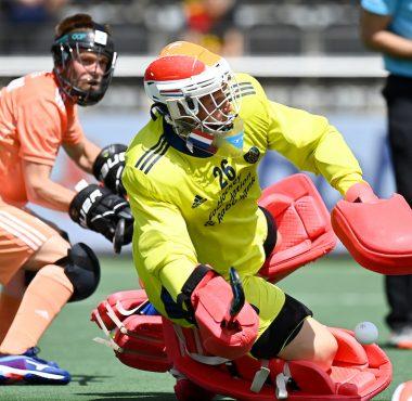 Pirmin Blaak is de man in vorm in de eerste helft van het EK Hockey.