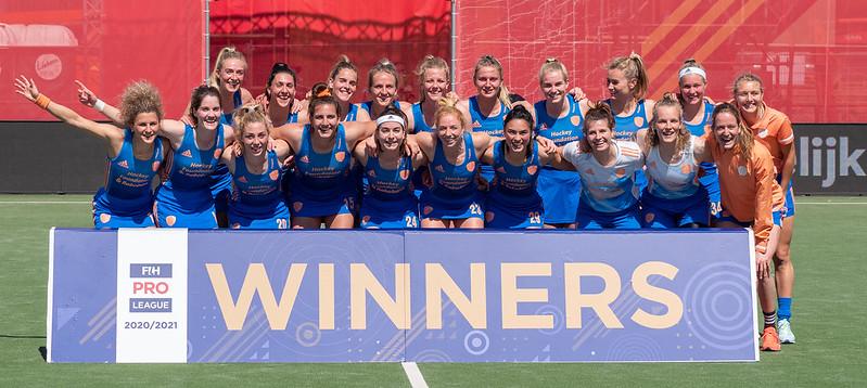 Ilse Kappelle won dit jaar naast het EK ook de titel op de FIH Pro League.