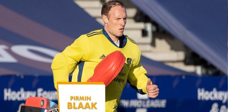 Topspeler van het EK Hockey 2021 is Pirmin Blaak
