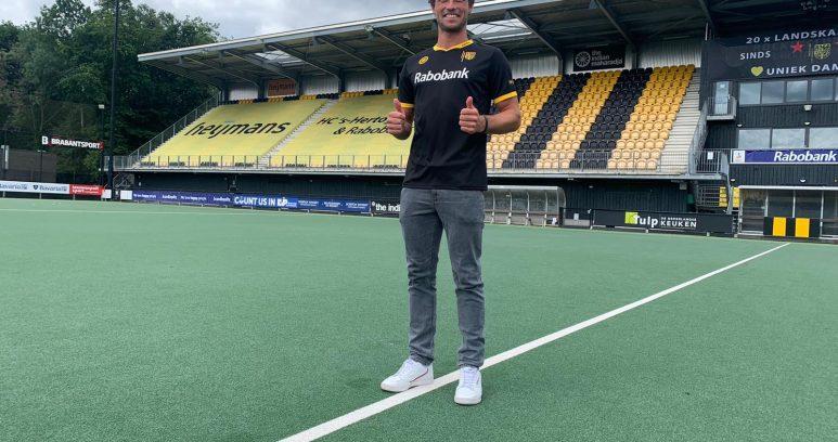 Paul Philippe Kaufmann gaat in Nederland bij Den Bosch hockeyen.