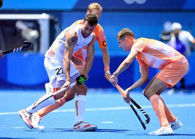 Jonas de Geus maakte vandaag zijn Olympische debuut voor Oranje. Foto: World Sport Pics / F