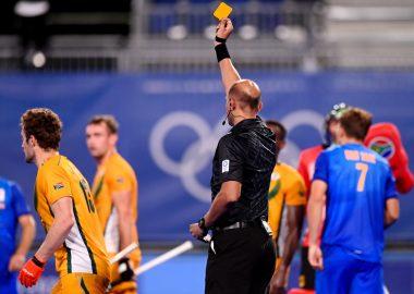 Zuid-Afrika verzamelt veel gele kaarten op de Olympische Spelen