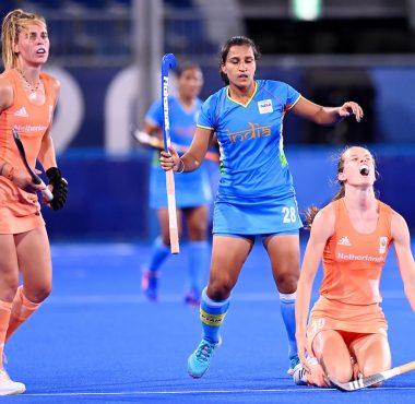 Felice Albers speelde een uitstekende wedstrijd op de Olympische Spelen tegen India.