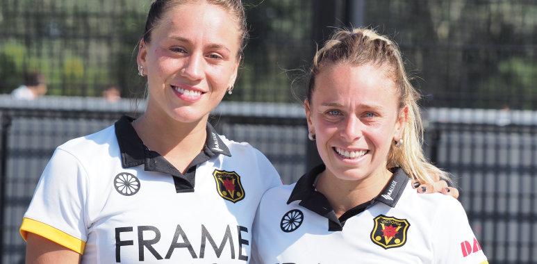 Julieta Jankunas en Vicky Sauze wonnen Olymisch zilver met Argentinië en spelen dit jaar voor Victoria.