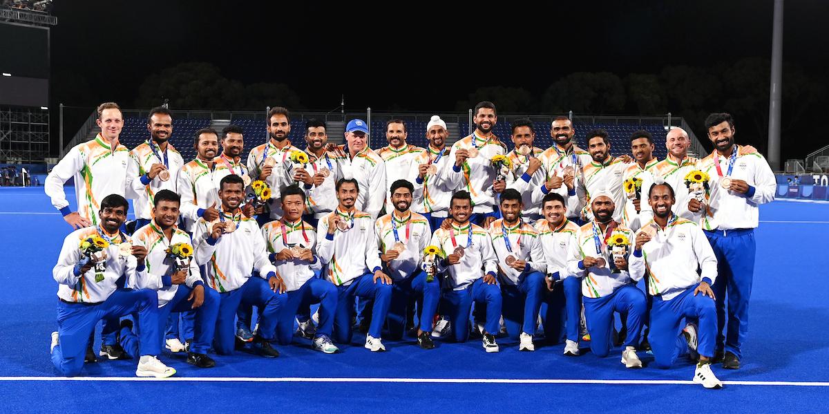 India wint de bronzen medaille