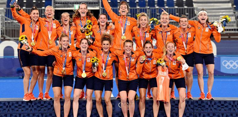 Nederland wint de Olympische Titel in 2021.